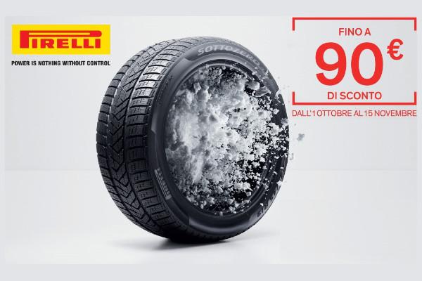 Promozione Pneumatici Invernali Pirelli!