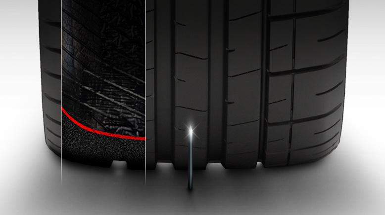 Scopri il nuovo pneumatico antiforatura!